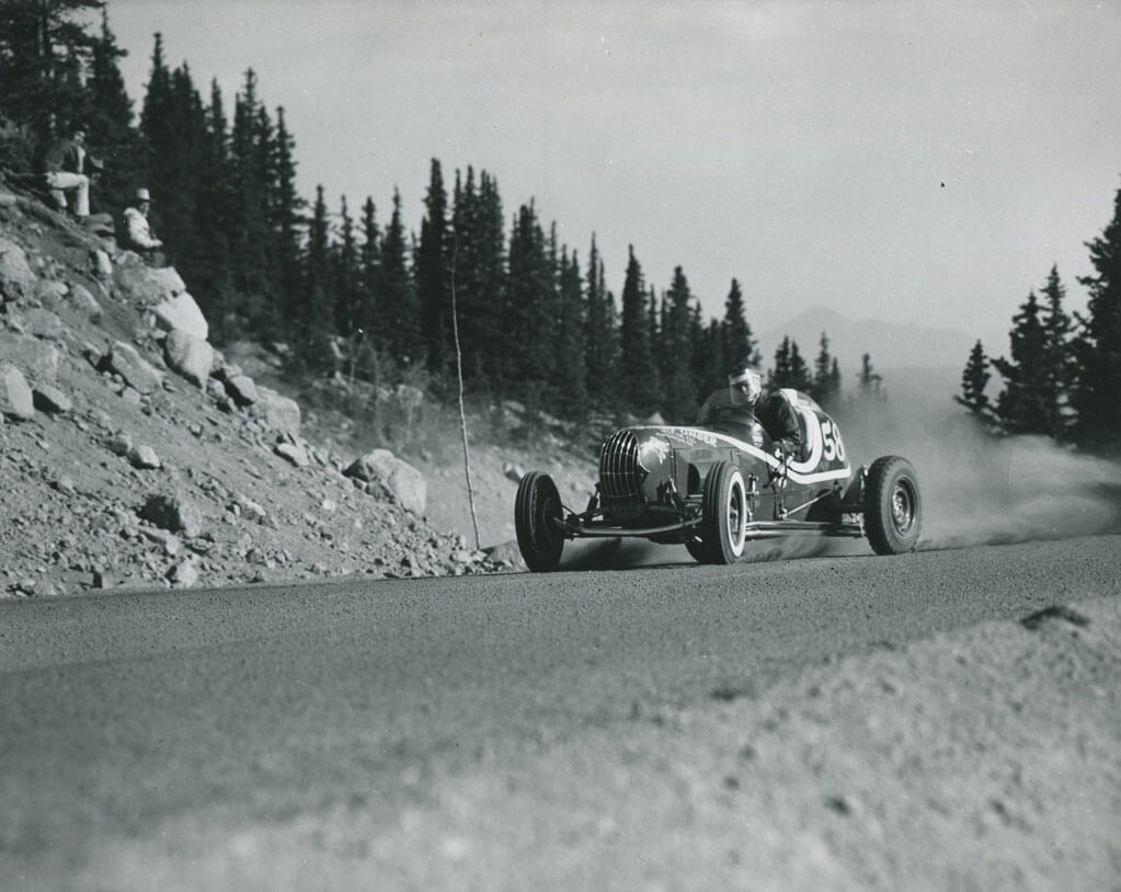 Bobby Unser claimed the Open Wheel record in 14:27 and began a string of wins.