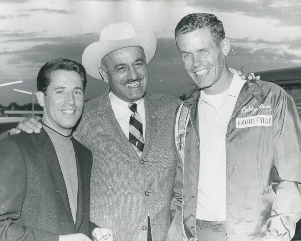 J.C. Agajanian promoted the race and brought many nationally famous drivers.