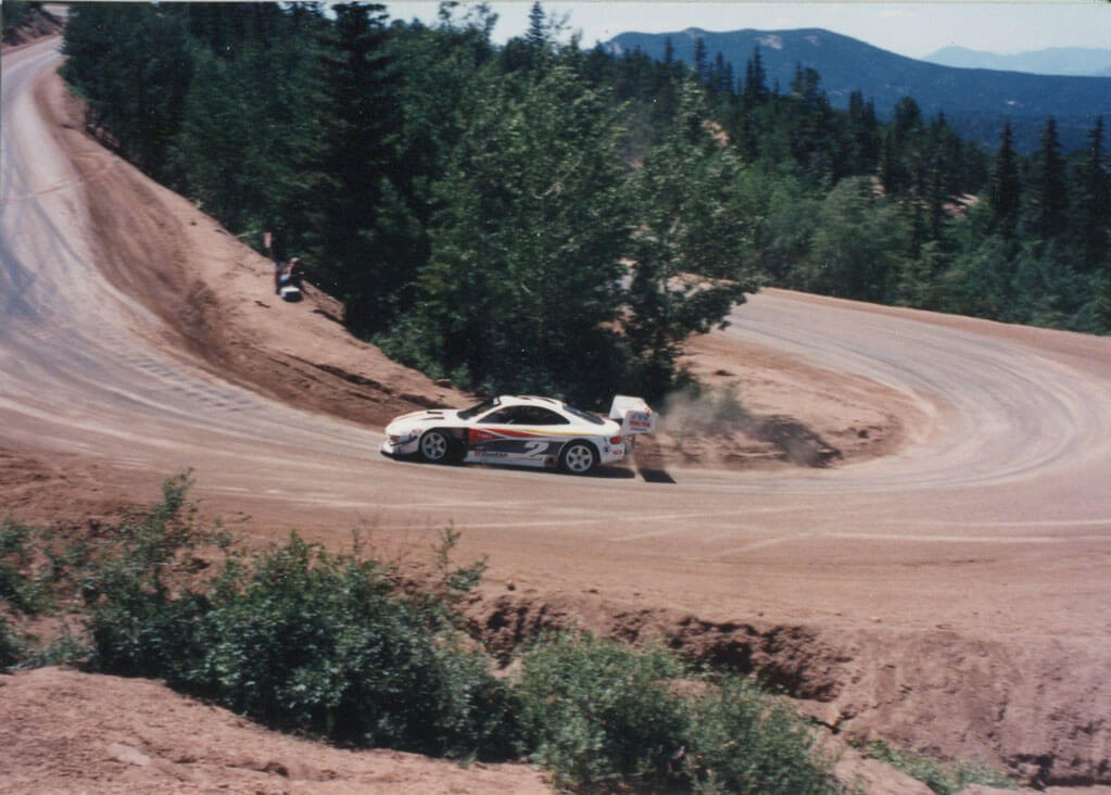 Rod Millen set the 10-minute record (10:04.06), the fastest time for an all-dirt course.